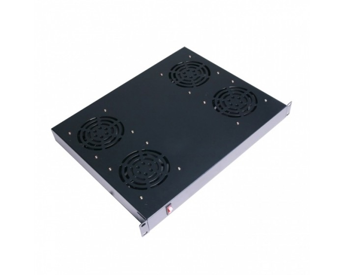 Server Rack Fan 4 Way 19""
