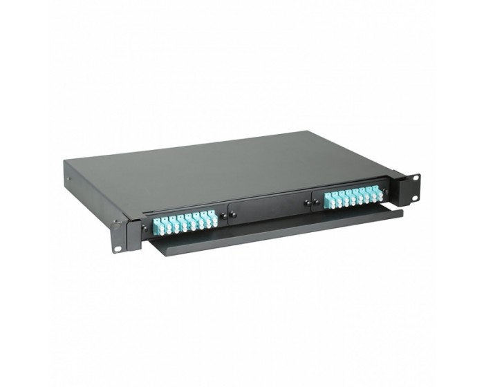 LC Fibre Patch Panel 24 way FOBOT