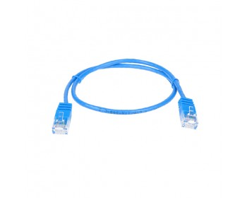 Cat6 UTP Slimline Patch Lead 1mtr