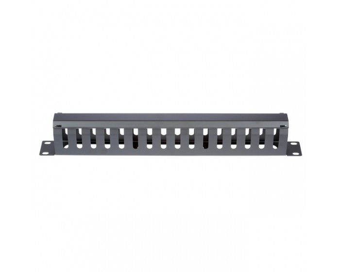 1RU Cable Manager Slotted