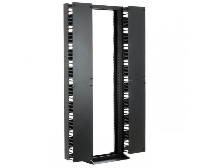 45RU 2 Post Rack, Open Frame