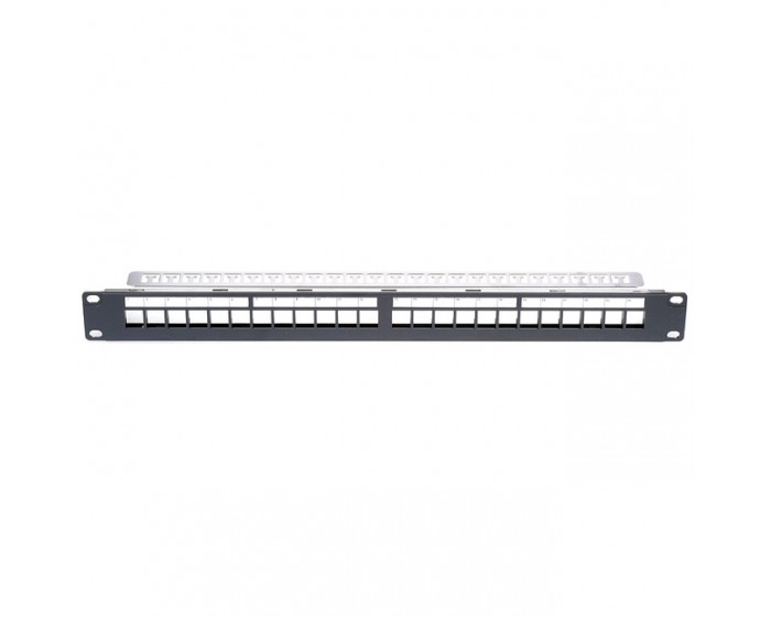 Cat6 Patch Panel Keystone  (unloaded)