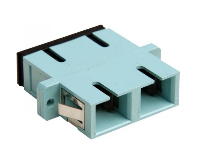 SC Fibre Optic Panel Connector OM3
